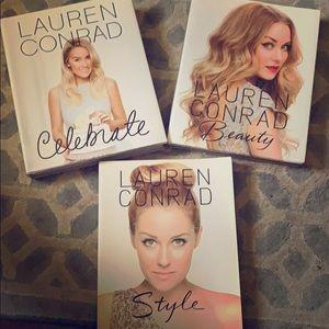 Lauren Conrad set of 3 books all new